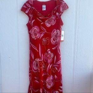 Dresses & Skirts - Sangria missy dress NWT